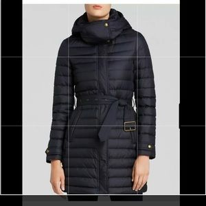 Burberry Brit Colbrooke down Blue Puffer S